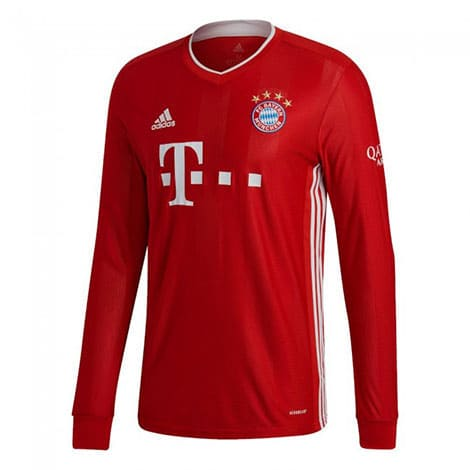 Maillot Manches Longues Bayern Munich Domicile 20/21 Rouge
